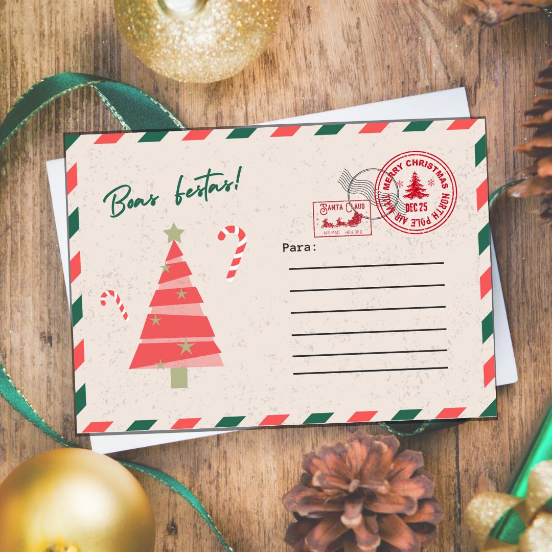 Postal de Natal [+R$ 8,00]