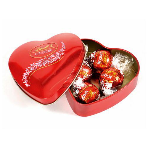 Mini coração lindt [+R$ 90,00]