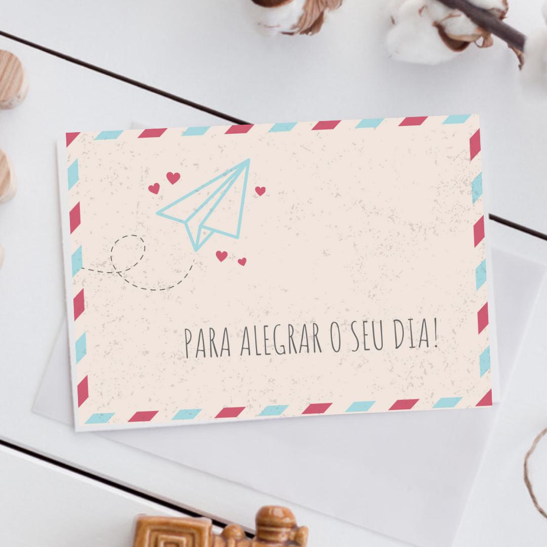 Cartão Postal [+R$ 8,00]